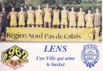 LENS   -  Basket En 1993  -  Région Nord-Pas De Calais - Lens