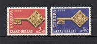 Grecia   1968  .-   Y&T  Nº    951/52    ** - Greece