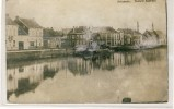 Zelzate - Nieuw Kanaal -Fotokaart -1919   ( Verso Zien ) - Zelzate