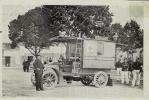 THEME - MILITARIA  CROIX ROUGE  -  (Véhicule Ancien + Militaires) - GRANDES MANOEUVRES DE 1907 - Croix-Rouge