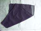 Echarpe Ou Foulard Crepe De Deuil  35x101 Cm- - Scarves