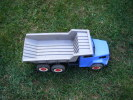 Camion Plastique -bleu-longueur 51cm- - Jouets Anciens