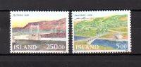 Islandia   1992  .-  Y&T Nº    721/22   ** - Island