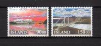 Islandia   1993  .-  Y&T Nº    735/36   ** - Island