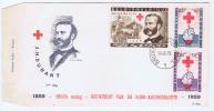 Belgie 1959 - FDC Rode Kruis - Croix Rouge - Henri Dunant