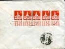 Raccomandata  Tedesca-1962 Con  Francobolli -viaggiata- - [7] Repubblica Federale