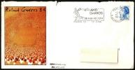 TENNIS - FRANCE PARIS 1984 - ROLAND GARROS - FLAMME - MAILED OFFICIAL COVER - Tennis