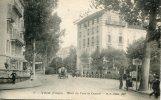 CPA 88 VITTEL HOTEL DU PARC ET CENTRAL - Vittel Contrexeville