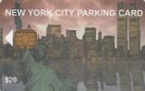 USA - New York City Parking Card $20, Municipality Of New York, Used - Andere Sammlungen