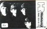 RARE * Télécarte Japon * THE BEATLES (60) Musique * Japan Music Phonecard * TELEFONKARTE MUSIK - Music
