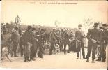 A LA FRONTIERE FRANCO-ALLEMANDE (carte Animée, Bon état) - Guerre 1914-18
