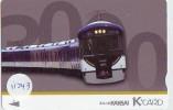 Carte Prépayée  Japon * K CARD * TRAIN (11.043)  Japan Prepaid Card * Eisenbahn ZUG * TREIN *