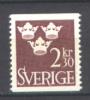 Svezia 1961/66 Ordinary Set Unif. 477A **/MNH VF - Ungebraucht