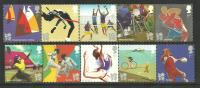 2011 Olympic & Paralympic Games (Get Ready For 2012) Full Set Of 10 In Mint Nh Condition - 1952-.... (Elizabeth II)