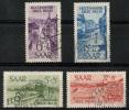 Sarre (1948) N 244 à 247 Obt - Sarre