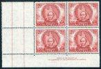 Australia 1946 2.5d Mitchell's Exploration Imprint Block Of 4 MNH  SG 216 - 1937-52 George VI