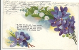 _34 Lot De 4 CPA  Thème Fleurs - Unclassified