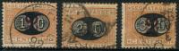Italie (1890) Taxe N 22 à 24 Obt - 1878-00 Humbert I.