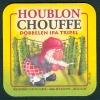 * Sous-Bock : CHOUFFE HOUBLON, Dobbelen Ipa Tripel, Brasserie D'Achouffe, Belgium, World Beer Awards 2010... - Sous-bocks