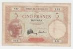 New Caledonia Noumea 5 Francs 1926 AVF P 36b 36 B - Nouméa (New Caledonia 1873-1985)