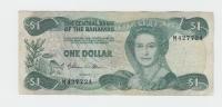 BAHAMAS 1 Dollar L 1974 ( 1984 ) VF P 43a 43 A - Bahamas