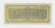 GREECE 2000 MILLION DRACHMAI 1944 XF P 133a 133 A - Griekenland