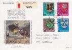 Nos J 265 à J 268 Sur Lettre Recommandée - Flamme De BERNOBA / Steffisburg / Thun - Lettres & Documents