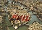 Paris - Vue Aérienne De L´Ile De La Cité Et De Notre-Dame, Ref 1107-521 - Mehransichten, Panoramakarten