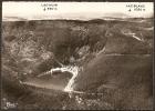 Cpsm ORBEY (68) Le Lac Noir Et Le Lac Blanc,vue Aerienne   (bon Etat) - Orbey