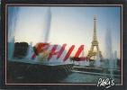 Paris - La Tour Eiffel Et Les Jets D´eau Du Trocadéro, Ref 1107-568 - Tour Eiffel