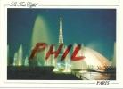 Paris, La Nuit  - La Tour Eiffel Illuminée, Ref 1107-575 - Tour Eiffel