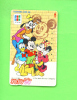 JAPAN - Magnetic Phonecard/Disney As Scan - Japan