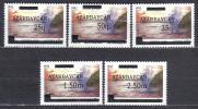 AP504 - AZERBAIGIAN 1992 , Ordinaria Serie N. 72/76  *** - Azerbaïjan