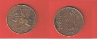 LITUANIE  //   50   CENTU   1925  //  ETAT  TB+  //   RARE - Lithuania