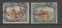 """SOUTH AFRICA UNION  1927 Used  Single Stamp(s)  """"London"""" Pictorials 1Sh Nr. 36 #12242 - South Africa (1961-...)"""