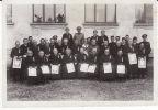 PIEMONTE - Torino - Mathi Canavese -Foto Premiati Unione Fascista Famiglie Numerose - Timbro A Secco Del Comune - Sin Clasificación