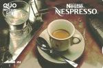 Japan: Prepaid QUO. Nestlé, Nespresso - Ohne Zuordnung