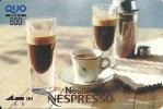 Japan: Prepaid QUO. Nestlé, Nespresso - Andere Sammlungen