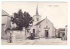 CPA - 21 -  LUX - L´ Eglise - Machine Agricole Deering - Autres Communes