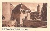 Estavayer-Le-Lac Postkarte Carte Postale 1945 - FR Fribourg