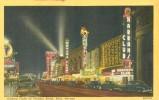 USA � United States � Gaming Clubs in Virginia Street, Reno, Nevada, unused linen Postcard [P4761]