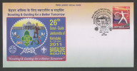 India 2011  SCOUTING & GUIDING  ROPE KNOT Special Cover # 25424   Inde Indien - Scouting