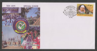 India 2011   16th NATIONAL SCOUTS JUMBOREE & CENTENARY OF GUIDING Special Cover  # 25438  Inde Indien - Scouting