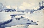 Suisse GR - CPA -BEI SILS - BASEGLIA  - 1908 Excellent état - GR Graubünden