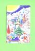 JAPAN - Magnetic Phonecard/Christmas As Scan - Japan