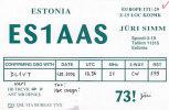 QSL-CARDS  - AK 79359 Estonia - Tallinn - Radio Amateur