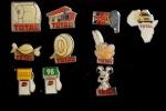 Lot 10 Pins -  TOTAL - Lots