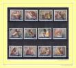 """FACIALE (4.77 €) VATICAN 1991 Série Neuve ** MNH N° YT 891 à 902 """" OEUVRES DE MICHEL-ANGE """" - Timbres"""