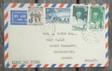 Enveloppe Pour Crowborough Austalian Antarctic Territory Oblitération Sydney First Day Of Issue 16 DEC 59 - Territoire Antarctique Australien (AAT)