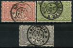 Pays Bas (1906) N 70 à 72 Obt
